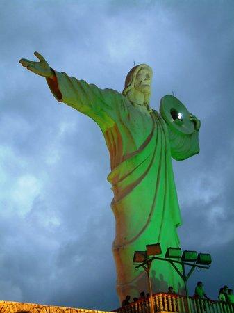 Brésil : Cristo de la Luz en Balneario Camboriú