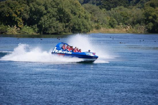 Huka Jet, Taupo- Waikato River