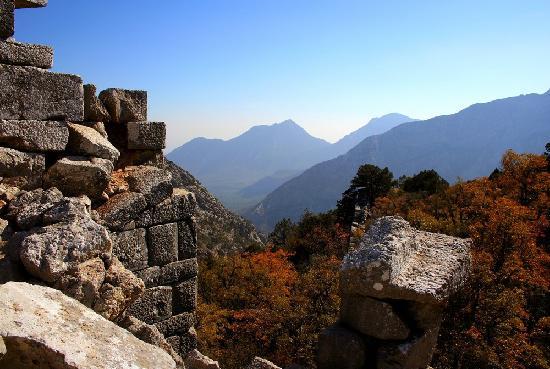 Termessos : Spectacular mountain views