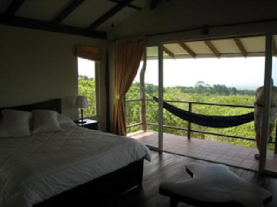 Semilla Verde Boutique Hotel: Bedroom one -- fabulous deck
