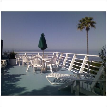 Laguna Riviera Beach Resort: Our deck