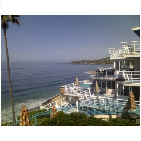 catalina island from our balcony picture of laguna. Black Bedroom Furniture Sets. Home Design Ideas