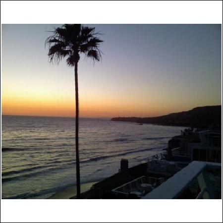 Laguna Riviera Beach Resort: The sunset from our deck