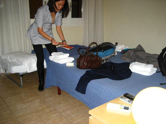 Barcelona City North: Room was bigger than I expected