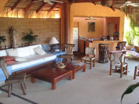 Villa Carolina Hotel: Master suite living area!