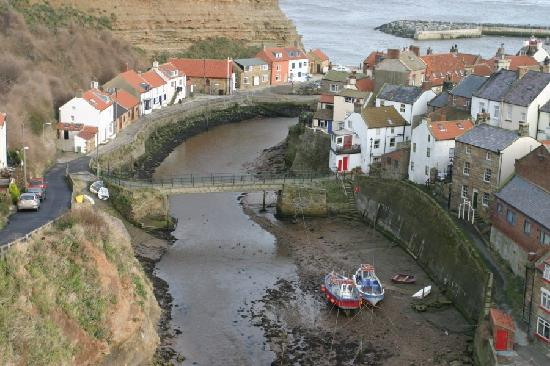 Staithes, UK: the view to sea