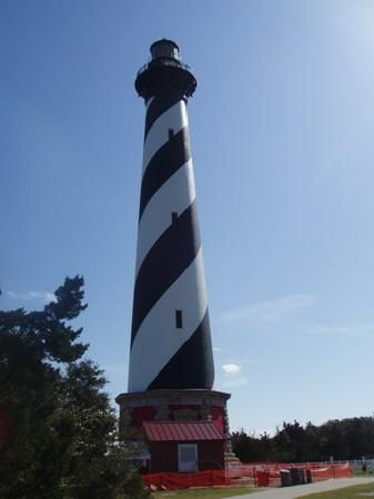 Cavalier by the Sea: Cape Hatteras lighthouse