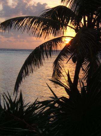 Sin Duda Villas : one of many beautiful sunrises