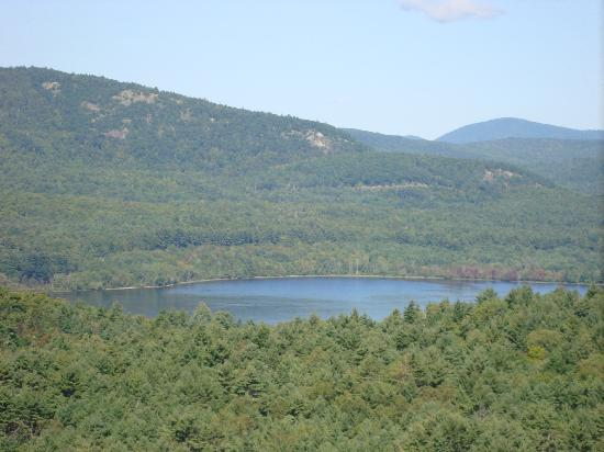 Adirondack Pines B&B and Vacation Rentals : Area we found hiking on the property