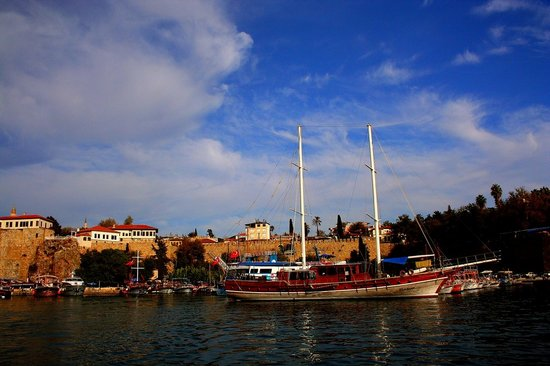 Turki: Antalya the old city - Marina