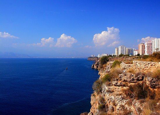 Turki: Antalya manzara ( blue sea views )