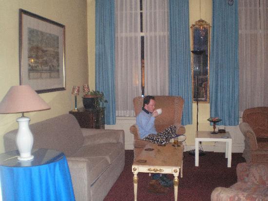 Hotel Washington: Lounge area