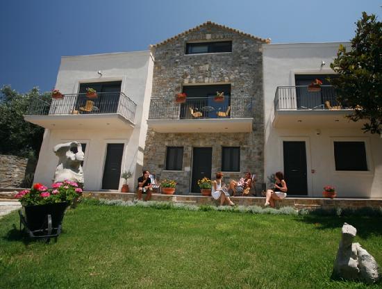 Gialova, Grecia: mylos garden