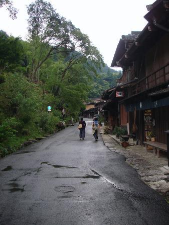 Ryokan Fujioto: Entrada a Tsumago