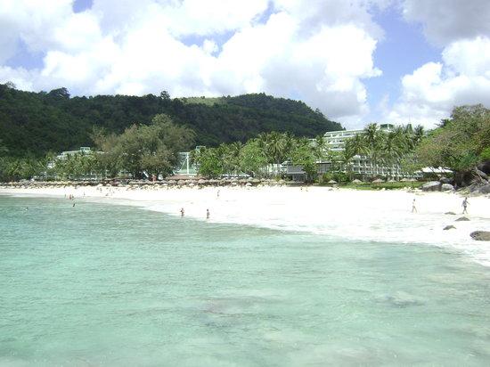 Le Meridien Phuket Beach Resort : Spiaggia Privata Hotel