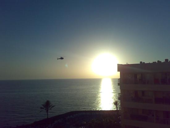 Sunwing Arguineguin Seafront: The helicopter