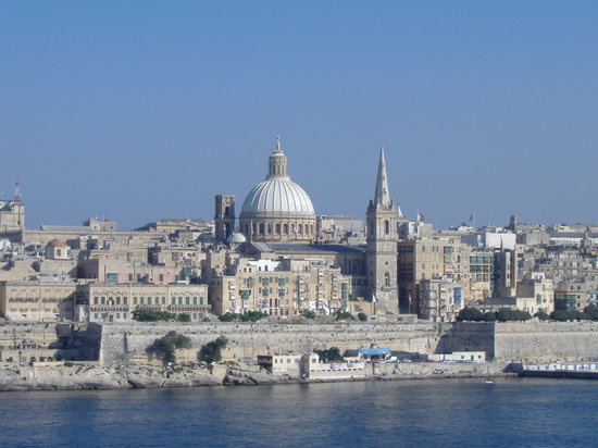 Isla de Malta, Malta: View of a world heritage site