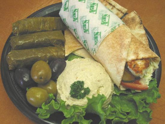 Azar's Market & Cafe: Mideastern Sampler