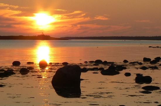 Solovetsky Islands, รัสเซีย: In late August the sun sets after 9 p.m.