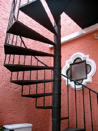 Hotel Posada San Pedro: Rooftop access
