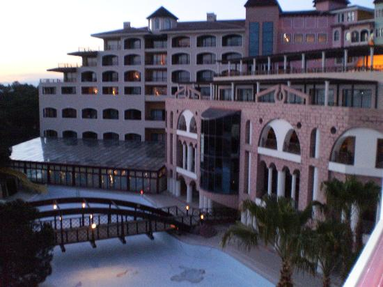 Sirene Belek Hotel: view from my balcony