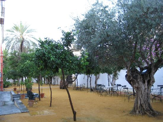 Palma Del Rio, Espanha: Front garden