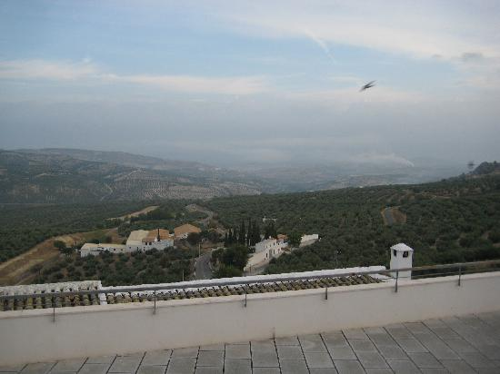 Hotel Rural Zuhayra : View from the bedroom window