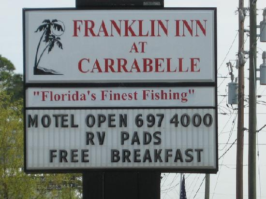 Carrabelle, Флорида: Franklin Inn