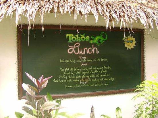 Atlantis Dive Resorts Dumaguete: Toko's Lunch...mmmmm