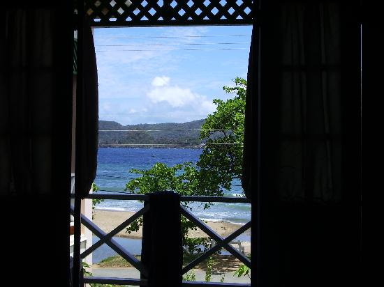 Manta Lodge: View from the balcony