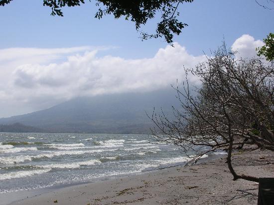 The beach by Las Kabanas