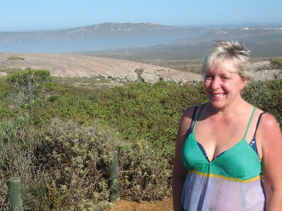 Langebaan, Sydafrika: Enjoying a very hot day