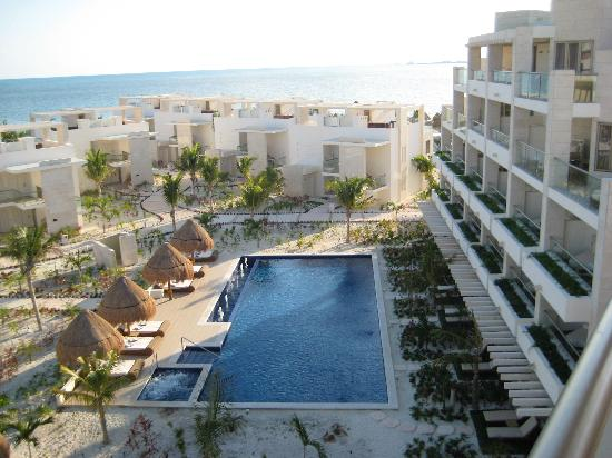 Beloved Playa Mujeres: View for Penthouse Bldg #2