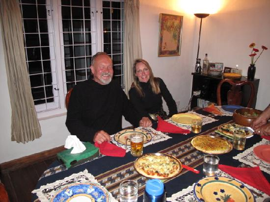 Cinnabar : Dinner with friends
