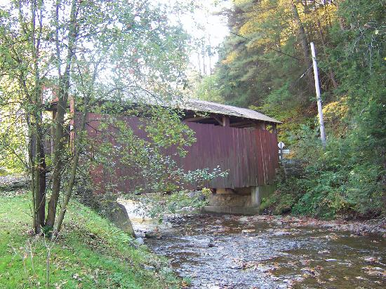 Millville, PA: Shoemaker Covered Bridge
