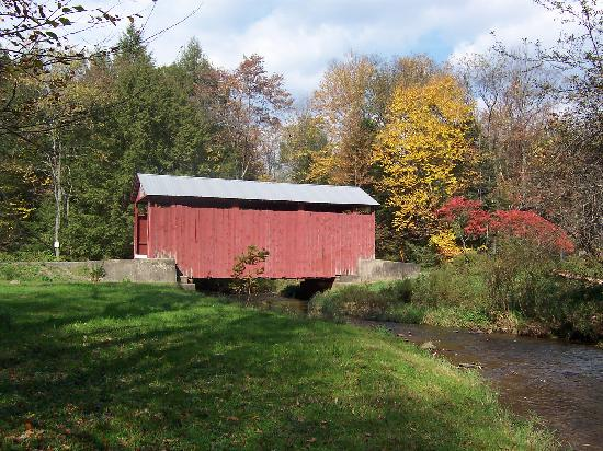 Millville, PA: Creasyville Covered Bridge
