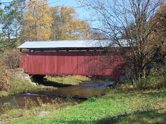 Millville, PA: Sam Eckman Covered Bridge