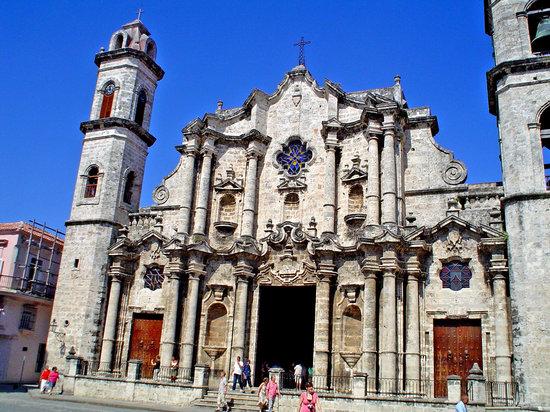Havanna, Kuba: La catedral