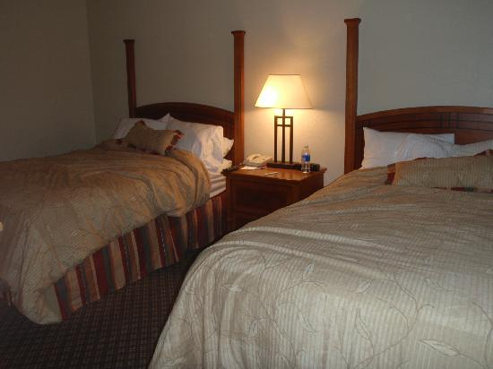Staybridge Suites Allentown Bethlehem Airport: double bedroom .