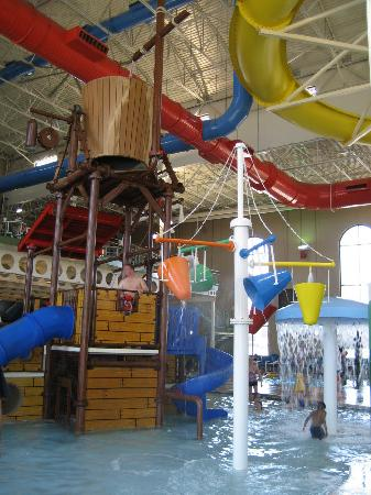 Rodeway Inn North Conference Center: Indoor water park