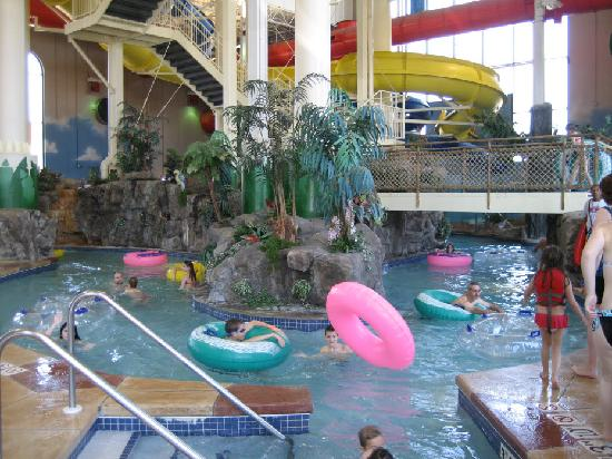 Rodeway Inn North Conference Center: lazy river