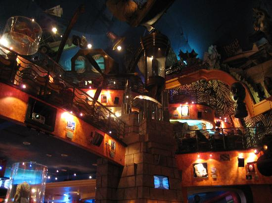 Planet Hollywood: inside