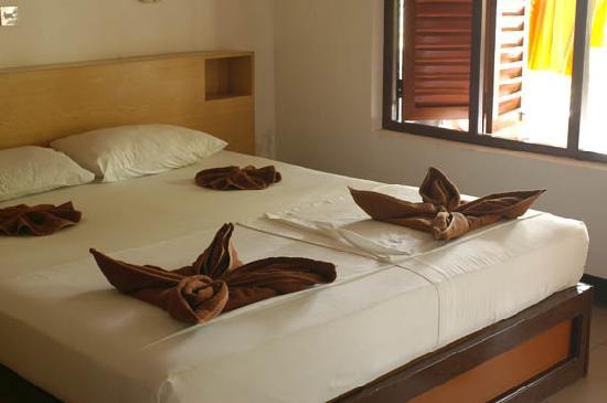 Asdu Sun Island: il letto decorato