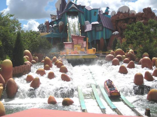 Universal Studios Florida: log flume