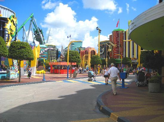 Universal Studios Florida: marvel land
