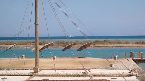 El Gouna, Mesir: Sheraton's Miramar Beach