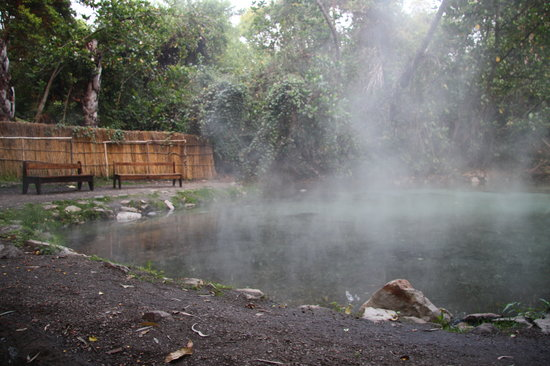 North Luangwa National Park, Zambia: Hot springs.