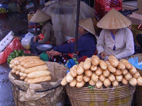 Ho Chi Minhstad, Vietnam: market