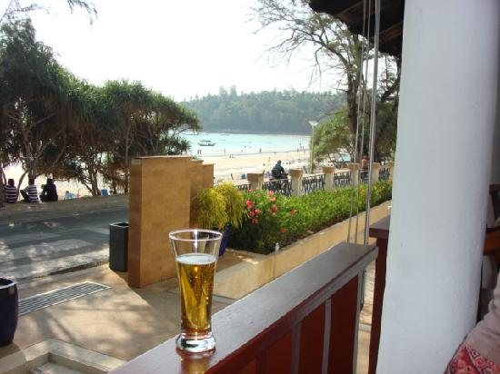 Club Med Phuket: View from the Bar to the Ocean