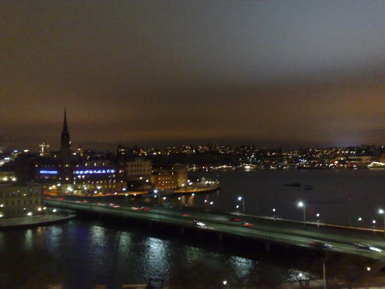 Sheraton Stockholm Hotel : vista della città dalla camera